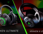 Razer Kraken Ultimate und Kraken X USB Gaming-Headsets.