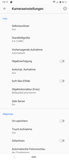 Test Sony Xperia 1 Smartphone