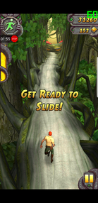 Temple Run 2 auf dem Samsung Galaxy S8