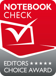 Notebookcheck Editor's Choice Award