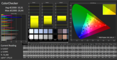 CalMAN ColorChecker (unprofiliert)