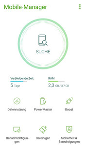 Asus ZenFone 4: Mobile Manager