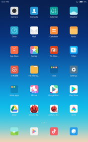 Software Xiaomi Mi Pad 4