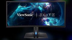 ViewSonic Elite XG350R-C: 35 Zoll Ultra-wide Curved-Gaming-Monitor.