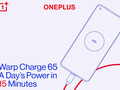 OnePlus 8T: Warp Charge 65 offiziell bestätigt, 1-Tages-Ladung in 15 Minuten.