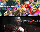 game Sales Award im April: Mario Kart 8 Deluxe und God of War.