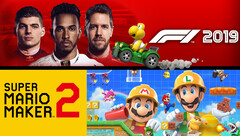 Spielecharts: F1 2019 und Super Mario Maker 2 die Top-Games.