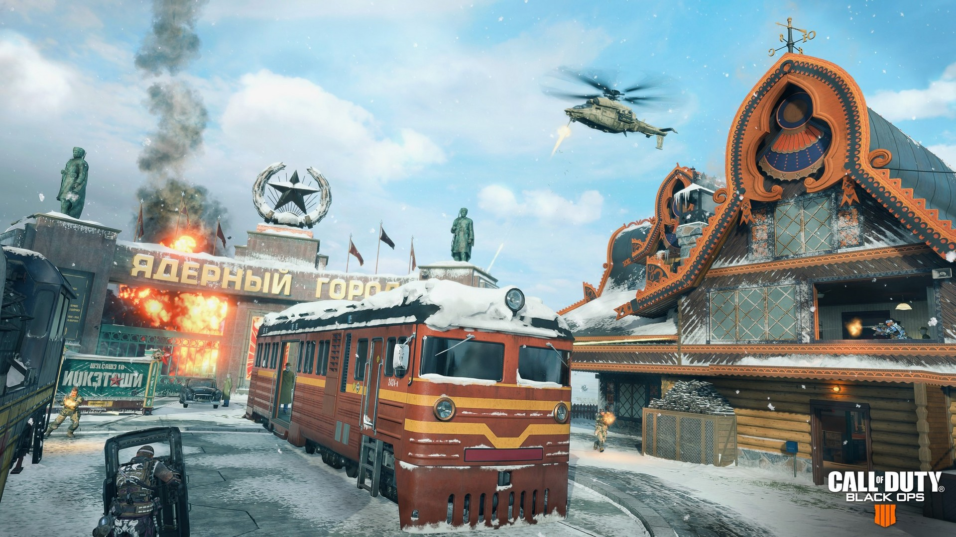 Call of Duty: Black Ops 4 erhält Multiplayer-Karte Nuketown (Video Call Of Duty Nuketown Map on