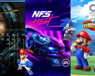 Spielecharts: Need for Speed Heat, Death Stranding und Mario & Sonic Tokyo 2020 sind top.