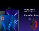 Huawei Honor 9X: Verkaufsstart am 11. November, Bundle mit Honor Band 4 Running