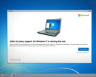 Microsoft warnt Windows-7-Nutzer vor dem Supportende