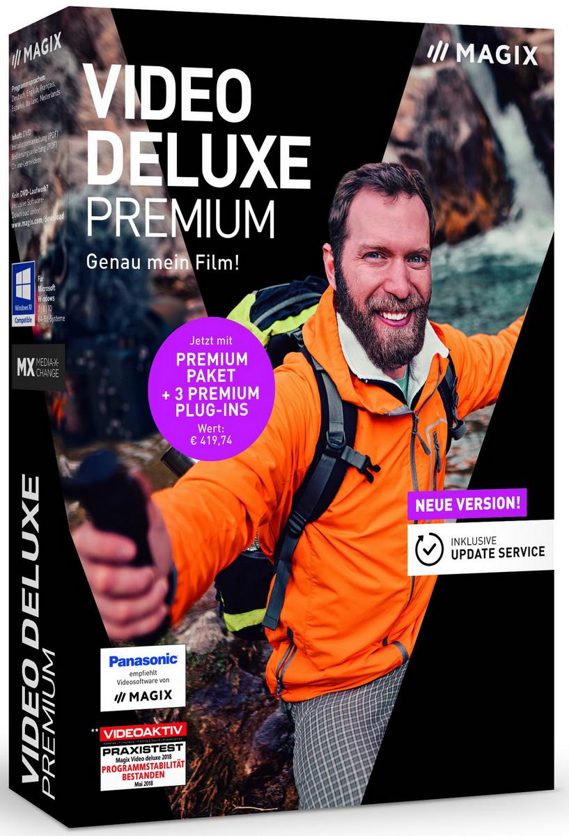 Videobearbeitung: Magix Video deluxe 2019 ab 70 Euro - Notebookcheck