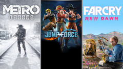 "Rauswurf: Metro Exodus, Jumpf Force & Far Cry New Dawn ""entsorgen"" die alte Top 3 der Spielecharts."