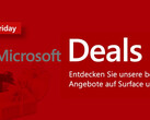 Microsoft Black Friday Deals für Surface und Xbox.