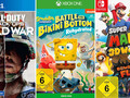game Sales Awards Februar 2021: Call of Duty, SpongeBob Schwammkopf und Super Mario prämiert.