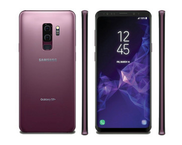 Samsung Galaxy S9 Plus in der neuen Farbe Lilac Purple