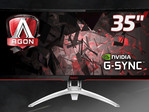 AOC Agon AG352UCG: 35 Zoll großer Ultra-Wide-Curved-Gaming-Monitor