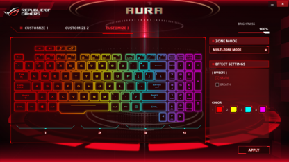 Aura-Tastatur-Software