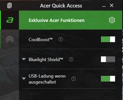 Acer Quick Access
