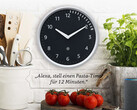 Amazon Echo Wall Clock mit Alexa ab sofort vorbestellbar.