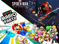 game Sales Awards Mai: Spider-Man und Super Mario Party erhalten Sonderpreis.