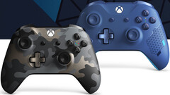 gamescom 2019 | Neue Xbox Wireless Controller Night Ops Camo und Sport Blue Special Edition.