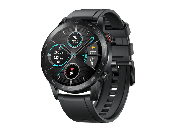 Honor Magic Watch 2 in 46 mm mit Bluetooth-Telefonie und farblichem Akzent