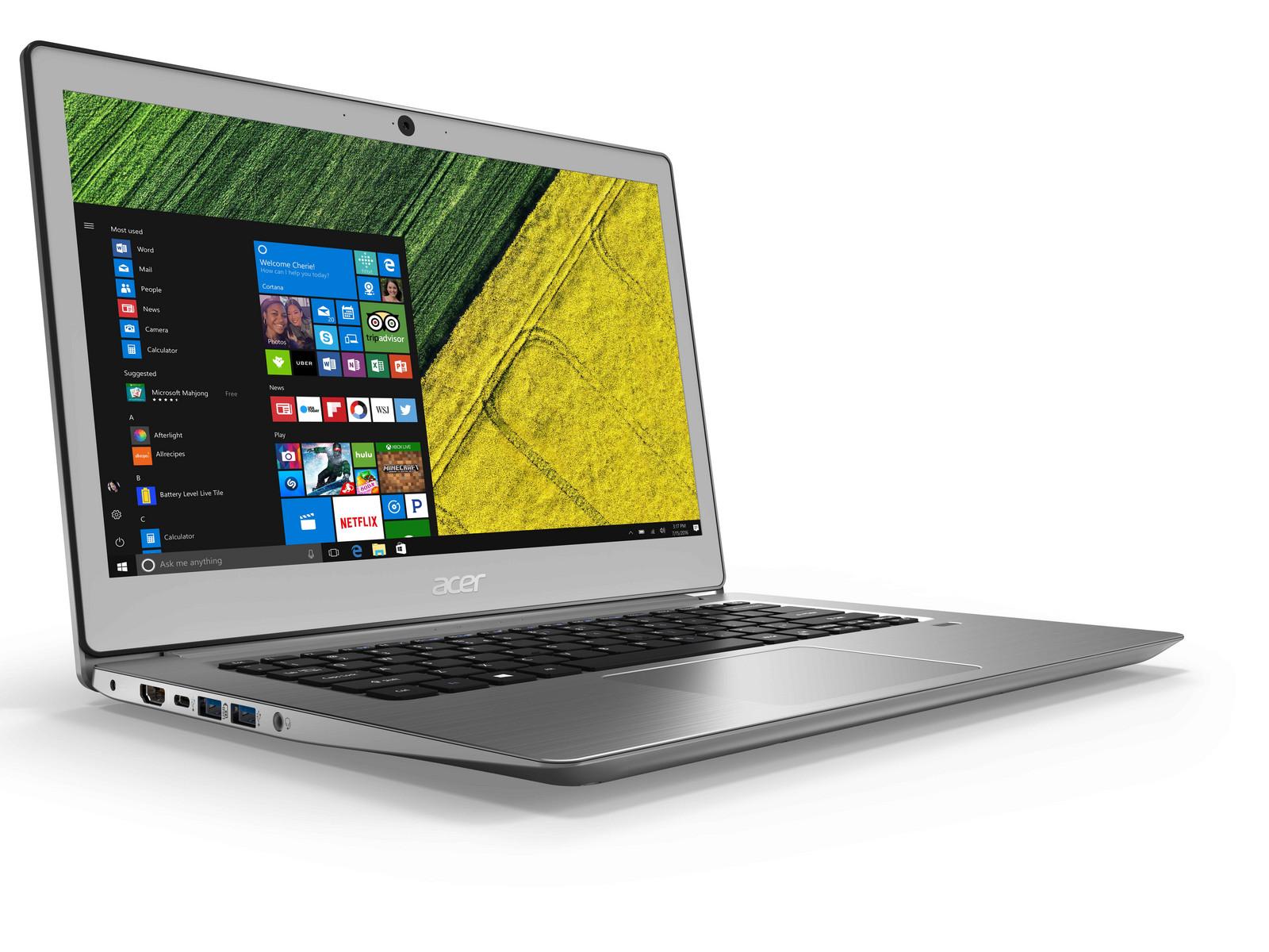 Acer Ultraschlanke Swift 1 Und 3 Laptops Gezeigt