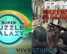 HTC Vive: VR-Games Super Puzzle Galaxy und Front Defense: Heroes