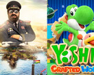Spielecharts: Tropico 6 stürmt PC-Charts, Yoshi's Crafted World die Nintendo Switch.
