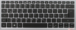 Tastatur des Acer Swift 3 SF313