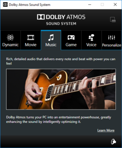 Dolby Atmos Software