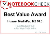 Best Value im April 2016: Huawei MediaPad M2 10.0