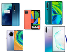 Kameratest: Vergleich Xiaomi Mi Note 10 vs. Google Pixel 4 vs. OnePlus 7T Pro vs. Samsung Galaxy Note 10 +	vs. Huawei Mate 30 Pro