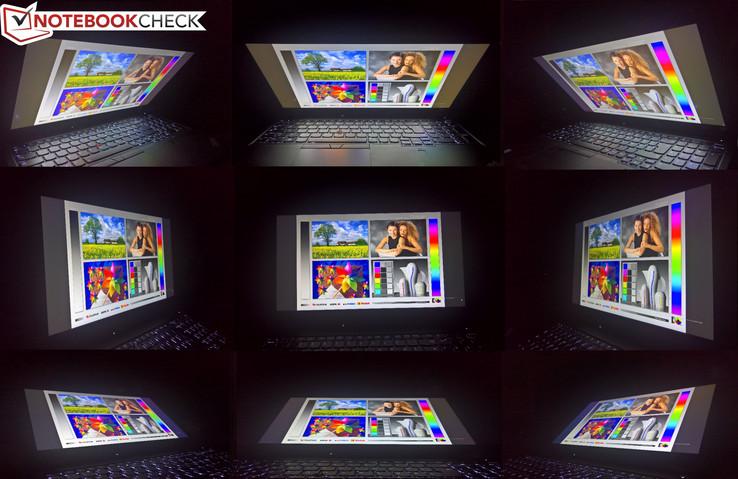 Blickwinkelstabilität Innolux N156HCE-EN1