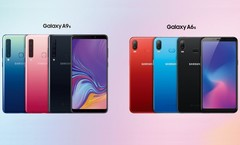 Die neue Samsung Galaxy As-Familie startet in China mit Galaxy A9s und A6s.