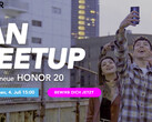 Honor Fan-Meetup für Honor 20 in München.
