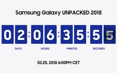 Samsung Galaxy Unpacked 2018: Links zum Galaxy S9 Live-Event.