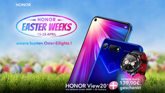 Honor Easter Weeks: View 20 Handy mit gratis Watch Magic Smartwatch.