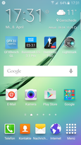 Homescreen - TouchWiz UX