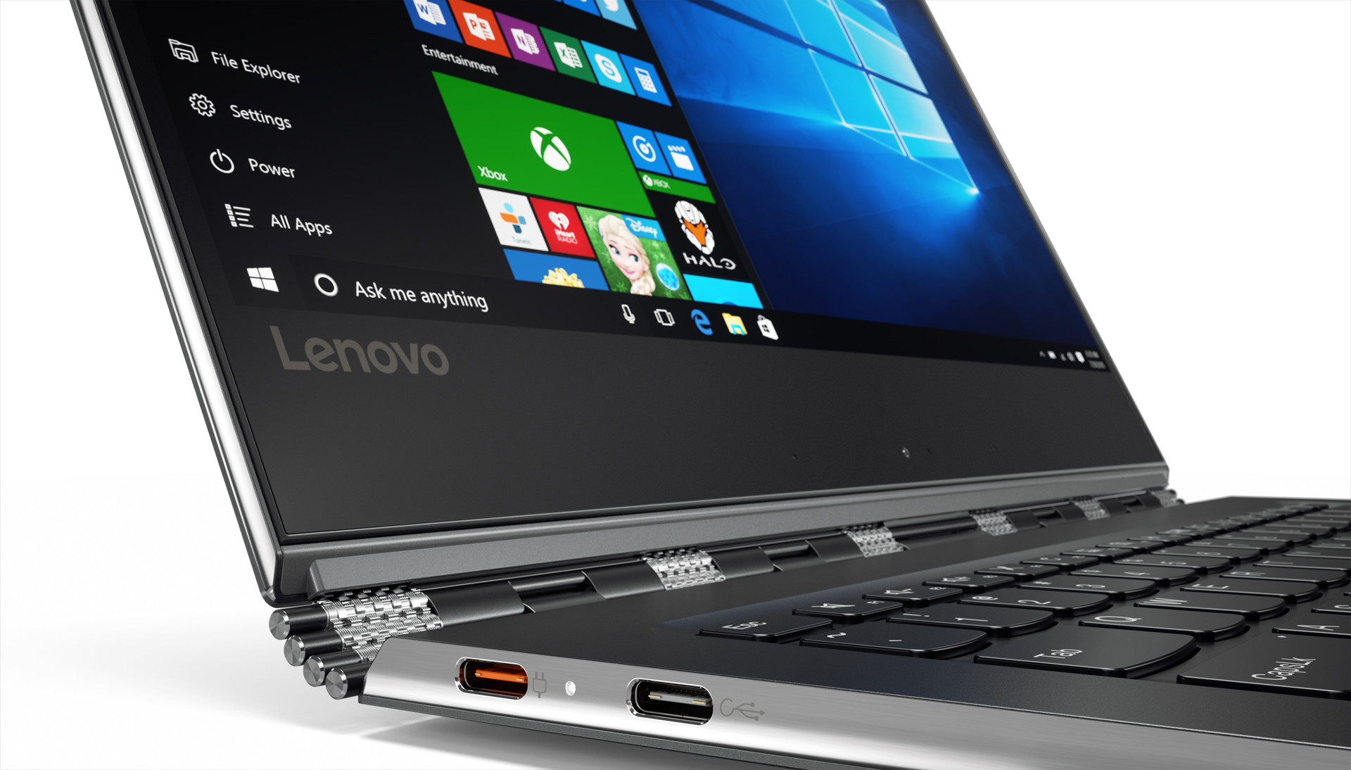 Lenovo Yoga 910 Convertible Flaggschiff Mit Kaby Lake Unibody