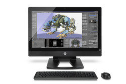 Bild HP: HP Z1 G2 Workstation im kompakten All-In-One-Format.