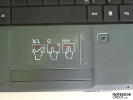 Acer Aspire 5536G Touchpad