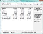 AES-Support: TrueCrypt 247 MB/s