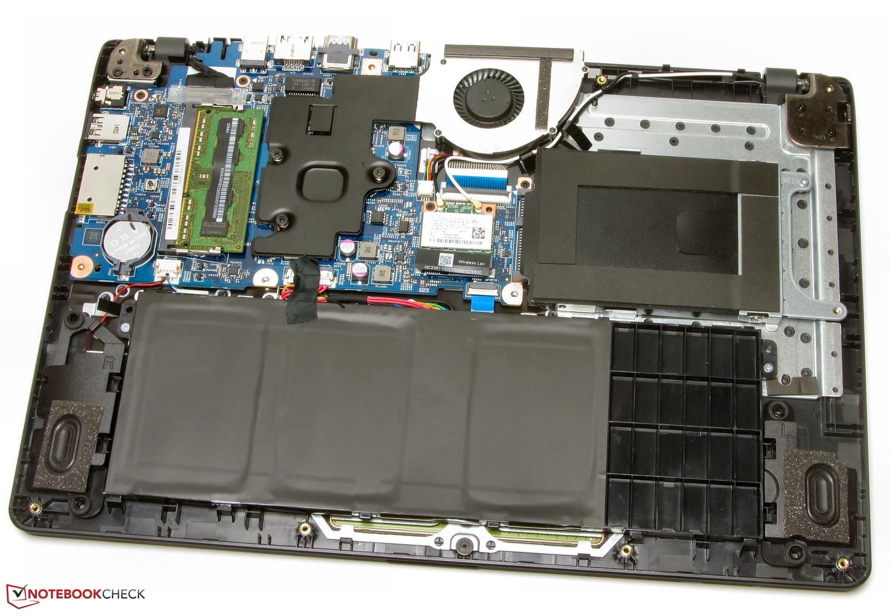 Test Acer Aspire E13 Es1 311 Notebook Notebookcheck Com