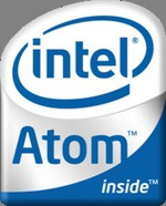 Intel Atom CPU logo
