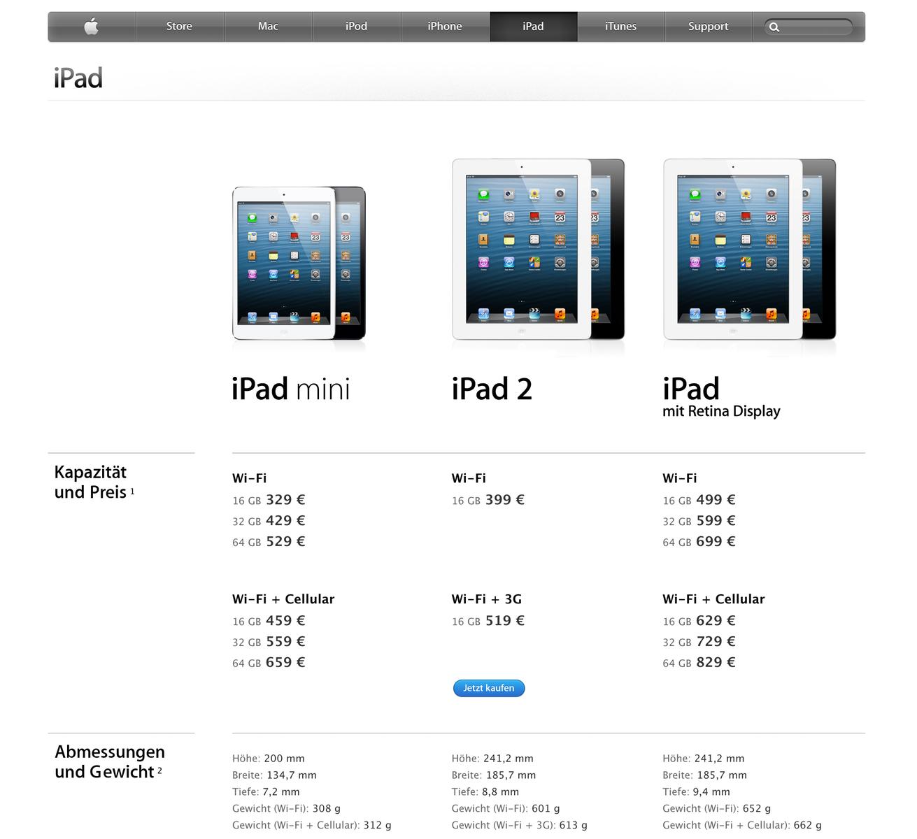 apple ipad mini mit 7 9 zoll bildschirm und a5 dual core. Black Bedroom Furniture Sets. Home Design Ideas