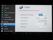 Settings HDMI-Ausgang