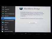 BlackBerry Bridge zum Datenaustausch mit anderen Devices