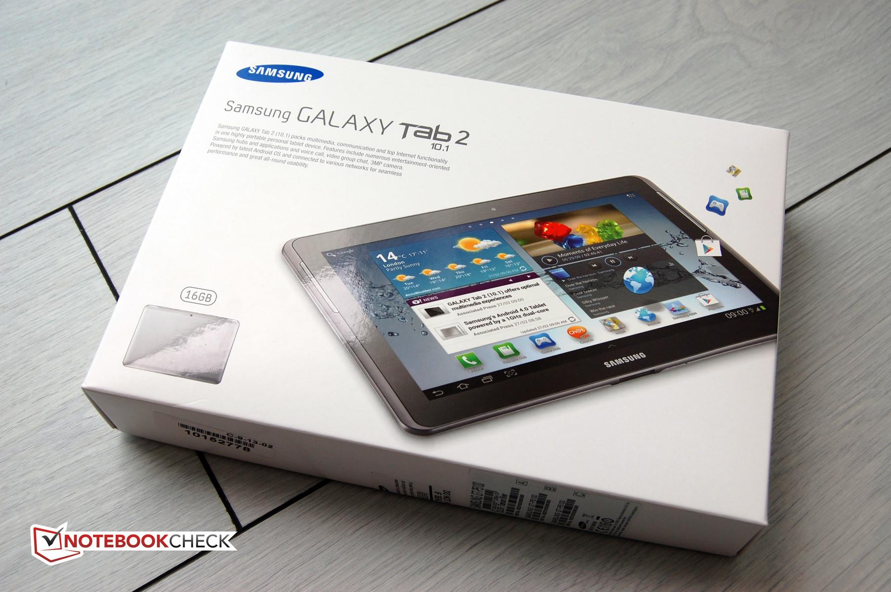 test samsung galaxy tab 2 10 1 tablet mid notebookcheck. Black Bedroom Furniture Sets. Home Design Ideas